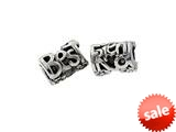 SilveRado™ MS187 Sterling Silver Best Friends Bead / Charm style: MS187