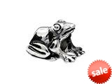 SilveRado™ MS215 Sterling Silver Frog Bead / Charm style: MS215