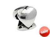 SilveRado™ MS226 Sterling Silver Three Hearts Bead / Charm style: MS226