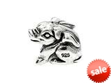 SilveRado™ MS230 Sterling Silver Flying pig Bead / Charm