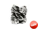 SilveRado™ MS237 Sterling Silver Zodiac Pisces Pandora Compatible Bead / Charm style: MS237