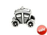 SilveRado™ MS260 Sterling Silver Princess Carriage Bead / Charm