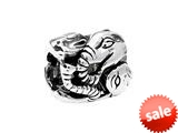 SilveRado™ MS270 Sterling Silver Five Elephant Bead / Charm