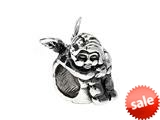 SilveRado™ MS278 Sterling Silver Cherub Bead / Charm style: MS278