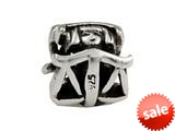 SilveRado™ MS280 Sterling Silver Zodiac Libra Pandora Compatible Bead / Charm style: MS280