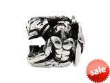 SilveRado™ MS294 Sterling Silver Zodiac Aquarius Bead / Charm style: MS294