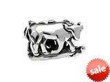 SilveRado™ MS295 Sterling Silver Zodiac Taurus Bead / Charm style: MS295
