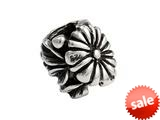 SilveRado™ MS307 Sterling Silver Daisy Pandora Compatible Bead / Charm style: MS307