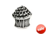 SilveRado™ MS308 Sterling Silver Cup Cake Pandora Compatible Bead / Charm style: MS308