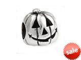 SilveRado™ MS315 Sterling Silver Pumpkin Pandora Compatible Bead / Charm style: MS315