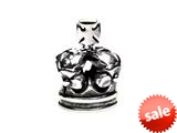 SilveRado™ MS410 Sterling Silver Crown # 9 Bead / Charm
