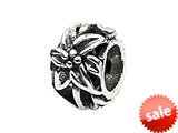 SilveRado™ MS491 Sterling Silver Flower Spacer #1 Pandora Compatible Bead / Charm style: MS491