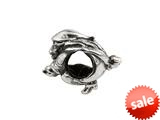 SilveRado™ MS515 Sterling Silver Witch on Broom Pandora Compatible Bead / Charm