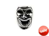 SilveRado™ MS528 Sterling Silver Comedy and Tragedy Bead / Charm style: MS528