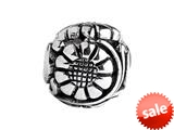 SilveRado™ MS585 Sterling Silver Focal Flower #1 Bead / Charm style: MS585