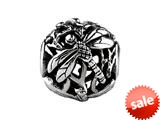 SilveRado™ MS610 Sterling Silver Focal Dragonfly #1 Bead / Charm