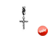 SilveRado™ MS620 Sterling Silver Dangle The Cross Bead / Charm style: MS620