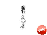 SilveRado™ MS631 Sterling Silver Dangle Key of Life Pandora Compatible Bead / Charm