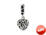 SilveRado™ MS737 Sterling Silver Dangle-One Love Bead / Charm style: MS737