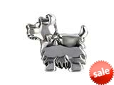 SilveRado™ MUK003 Sterling Silver Dog Bead / Charm style: MUK003