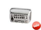 SilveRado™ MUS005 Sterling Silver Trolly Car Bead / Charm style: MUS005
