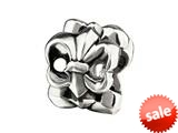 SilveRado™ MUS007 Sterling Silver Fleur De Lys Pandora Compatible Bead / Charm style: MUS007