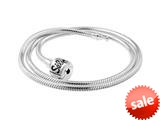 SilveRado™ NK40-M-A Sterling Silver 3.0mm 15.75 inches  Bead Necklace style: NK40-M-A