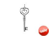 SilveRado™ RVR011 Verado Sterling Silver P.S. I Love You Bead / Charm style: RVR011