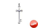 SilveRado™ RVR014 Verado Sterling Silver Cathedral Bead / Charm style: RVR014