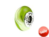 SilveRado™ SC03 Murano Glass Apple Swirl Pandora Compatible Bead / Charm