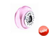 SilveRado™ SC14 Murano Glass I Love Pink Bead / Charm style: SC14