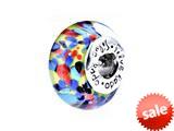 SilveRado™ SM03 Murano Glass Happy Ending Bead / Charm style: SM03