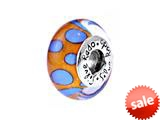 SilveRado™ SM06 Murano Glass Private Dancer Bead / Charm style: SM06