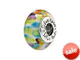 SilveRado™ SP17 Murano Glass Pastel Montage Bead / Charm style: SP17
