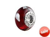 SilveRado™ SR04 Murano Glass Fire and Ice Bead / Charm style: SR04