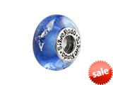 SilveRado™ SR07 Murano Glass Reflections Pandora Compatible Bead / Charm