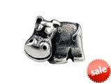 SilveRado™ SRK027 Sterling Silver Kidz Missy Moo Bead / Charm style: SRK027