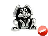 SilveRado™ SRK028 Sterling Silver Kidz Dog Bead / Charm style: SRK028