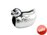 SilveRado™ SRK031 Sterling Silver Kidz Bath Time Duck Bead / Charm style: SRK031