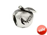 SilveRado™ SRK053 Sterling Silver Kidz Worm in Apple Bead / Charm style: SRK053