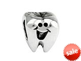 SilveRado™ SRK055 Sterling Silver Kidz First Tooth Bead / Charm style: SRK055
