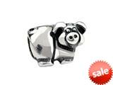 SilveRado™ SRK086 Sterling Silver Kidz Piglet Bead / Charm style: SRK086