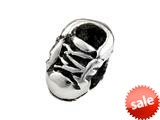 SilveRado™ SRK092 Sterling Silver Kidz Baby Shoe Bead / Charm style: SRK092