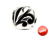 SilveRado™ SRM026 Sterling Silver Unisex Abstract Music Pandora Compatible Bead / Charm style: SRM026
