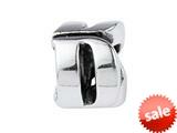 SilveRado™ SRM040 Sterling Silver Letter D Bead / Charm style: SRM040