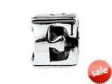 SilveRado™ SRM041 Sterling Silver Letter E Bead / Charm style: SRM041