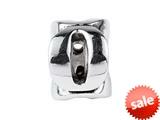 SilveRado™ SRM051 Sterling Silver Letter O Pandora Compatible Bead / Charm style: SRM051