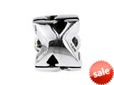 SilveRado™ SRM060 Sterling Silver Letter X Bead / Charm style: SRM060