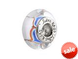 SilveRado™ SW01 Murano Glass Heart Rhythm Bead / Charm style: SW01
