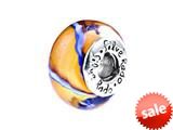SilveRado™ SW12 Murano Glass Day Tripper Bead / Charm